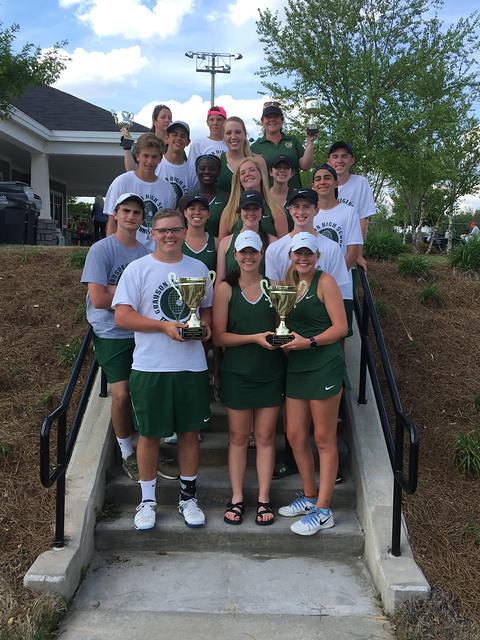GHS Tennis Region Champs